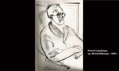 Portret Czapskiego 1990 r. , Michał Milberger