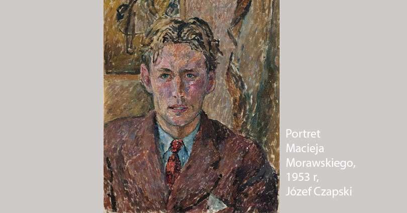Portret Macieja Morawskiego namalowany przez Józefa Czapskiego w 1953 r.
