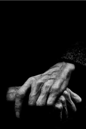 Ręce Józefa Czapskiego, fot. Krzysztof Gierałtowski