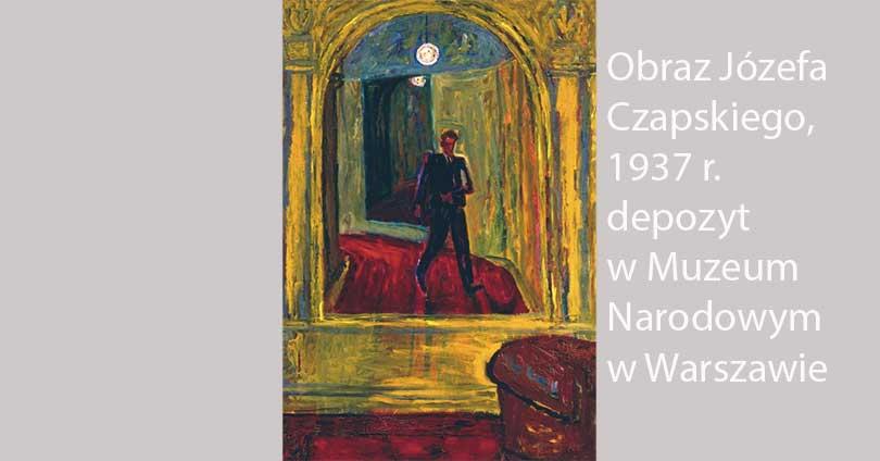 Autoportret w lustrze; Czapski, Józef (1896-1993); Polska; ok. 1937