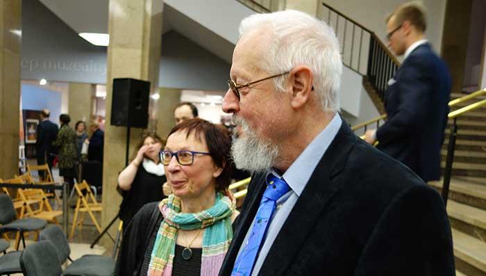 Barbara i Richard Aeschlimann w Krakowie 22.04.2016 r.