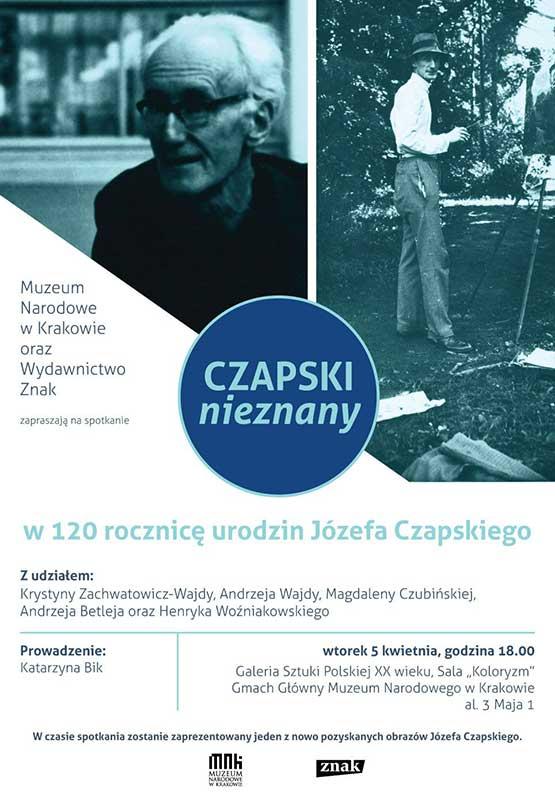 Plakat Józef  Czapski