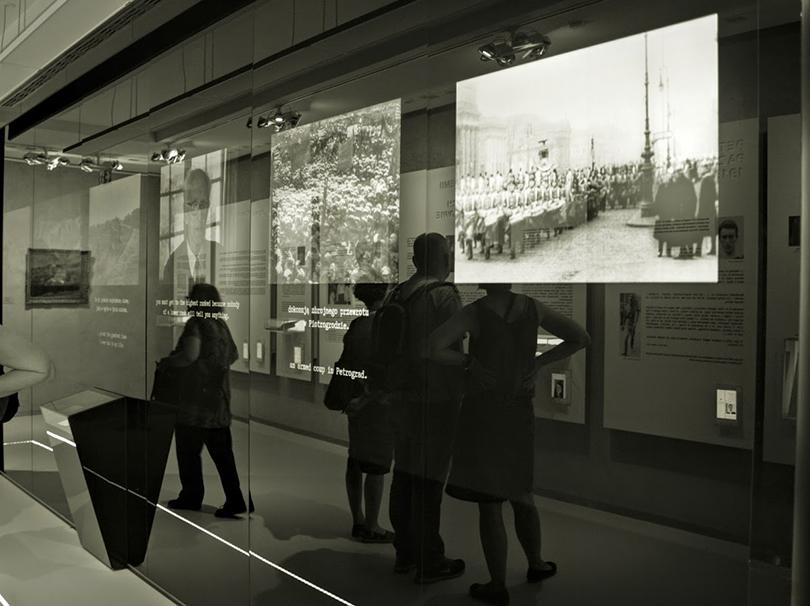 Wystawa stała w Pawilonie Józefa Czapskiego (fot. Ewa Estera Lipiec)
