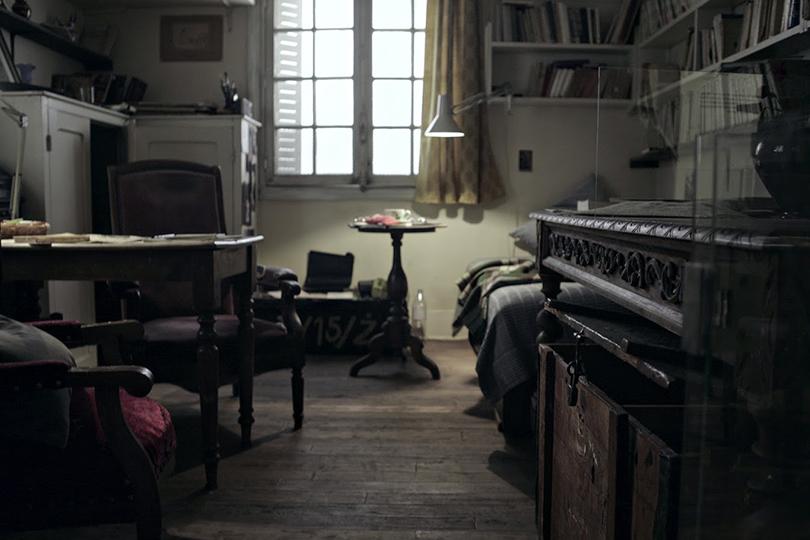 Pokój Józefa Czapskiego w obiektywie Ewy Estery Lipiec (czerwiec, 2016)