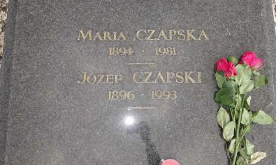 Józef Czapski i Maria Czapska (grobowiec)