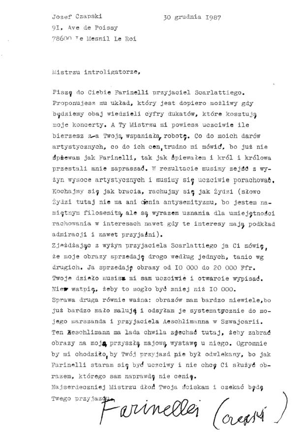 list_czapski_1987