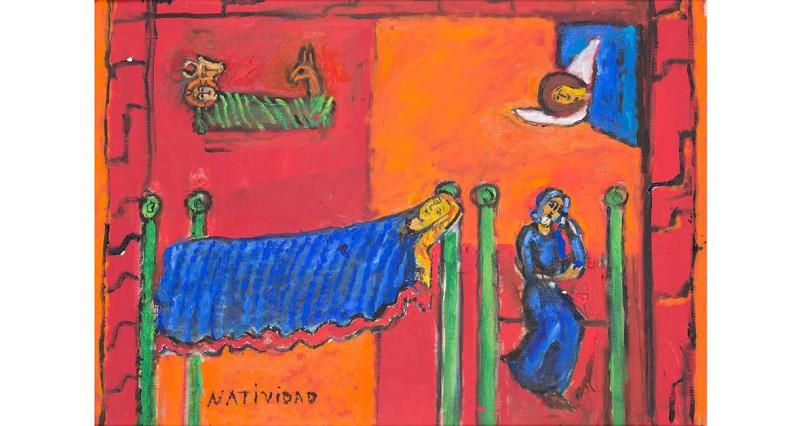 NARODZENIE PAŃSKIE (NATIVIDAD), LATA 70. XX W.