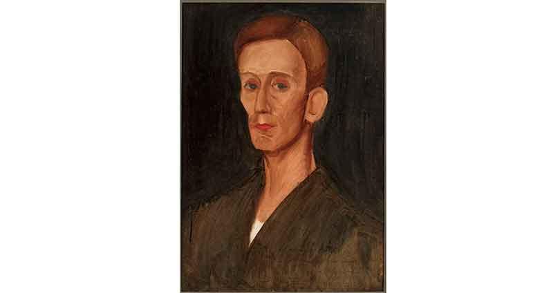 Portret Józefa Czapskiego namalowany przez Zygmunta Waliszewskiego, 1924 rok