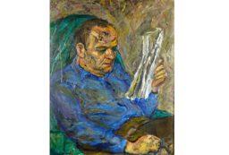 Józef Czapski, portret Gustawa Herlinga-Grudzińskiego