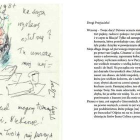 Listy o malarstwie Jóżef Czapski do Janusza Marciniaka