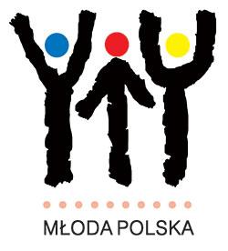 Kolorowe Logo programu Młoda Polska