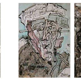 portrety kolorowe wykonane przez Pawła Jocza