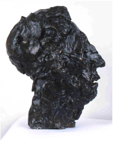 Rzeźba, popiersie Artura Rubinsteina, autor: Paweł Jocz