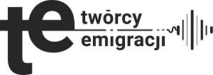 czrano białe logo twórcy emigracji